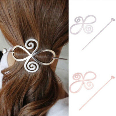 Barrette Shawl Pin Hair Accessories Bun Holder Hairpin Long Hair Slide Clip New