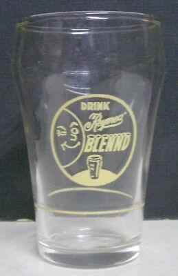 1940's Reymer's Blennd Soda Fountain Glass - Pittsburgh, PA