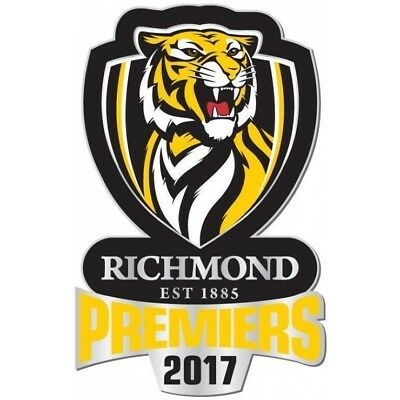 333241 Richmond Tigers 2017 Afl Premiers Team Logo Pin Badge Lapel