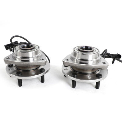 2 Front Wheel Hub Bearing 1998-04 for Chevy Blazer S10 GMC Jimmy 4x4 AWD w/ABS
