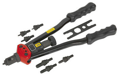 Sealey Heavy-Duty Long Arm Threaded Rivet/Riveter Gun/Tool -