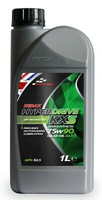 Brand  New  Kerax  Hyperdrive  KXS  75W90  Semi  Synthetic  Gear  Oil  GLS - 1 L