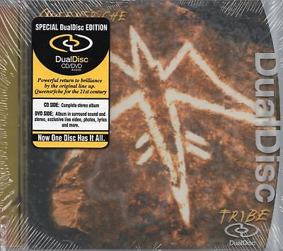Queensryche - Tribe (2003 Dual Disc - CD / DVD) New & Sealed