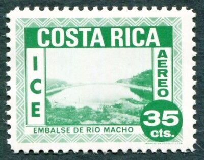 COSTA RICA 1967 35c emerald SG761 MNH FG Costa Rican Electrical Industry #W47