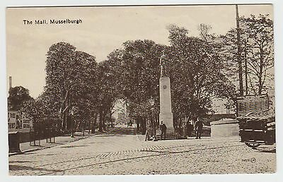 The Mall, Musselburgh & 1911 North British Railway Station: 1919 PPC, Unused