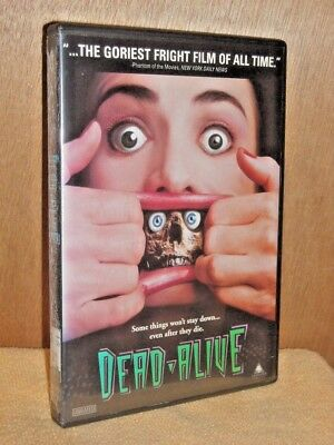 Dead Alive (DVD, 1998, Unrated Version) horror Peter Jackson film Timothy Balme