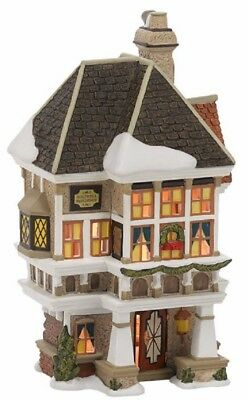 Department 56 Dickens Village A Christmas Carol Nephew Fred's Home 4036525 New
