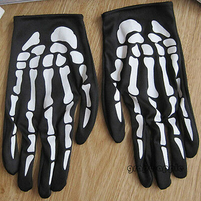 GPE hot Sale Christmas Halloween Halloween Skeleton ghost claw gloves gloves