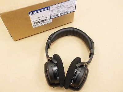 Genuine Jeep Mopar Infrared Rear Seat Headphones For DVD Player TV 05064037AA