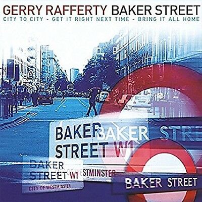 Gerry Rafferty Baker Street CD NEW SEALED Get It Right Next Time/City To City+