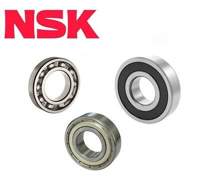 NSK 6200 Series Ball Bearing - Open ZZ 2RS C3