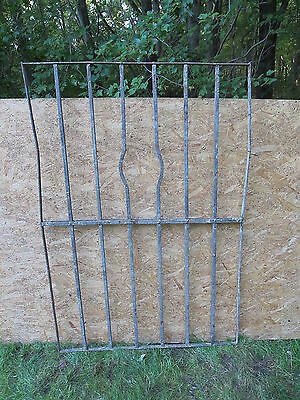 Antique Victorian Iron Gate Window Garden Fence Architectural Salvage Door WWW