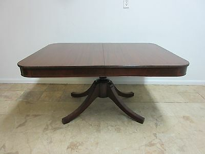 Antique Federal Hepplewhite Mahogany Dining Room Conference Banquet Table