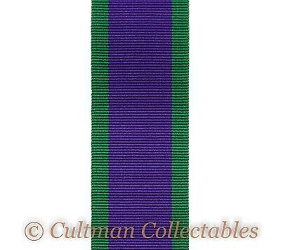 198. GSM / CSM / Campaign Service Medal Ribbon (1962-2007) - Full Size