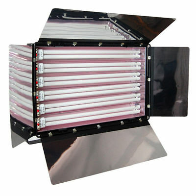 Studio Fluroescent 6-Bank Studio Digital Light  Barndoor Light Panel Photo Lamp