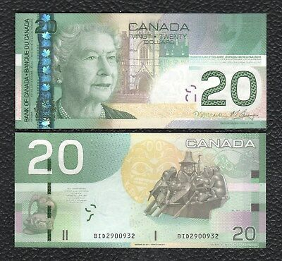 Canada P-103h 2004/2011 20 Dollars-Crisp Uncirculated