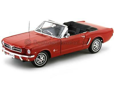 ford mustang cabrio in rot 1964 mira ma stab 1 18 eur 15 50 picclick de. Black Bedroom Furniture Sets. Home Design Ideas