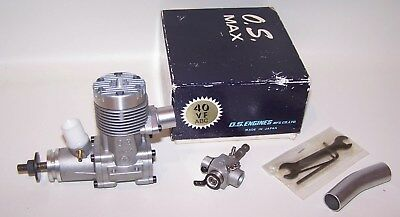 Very Nice In Box O.S. Max .40 VF ABC Control Line-R/C Model Airplane Engine