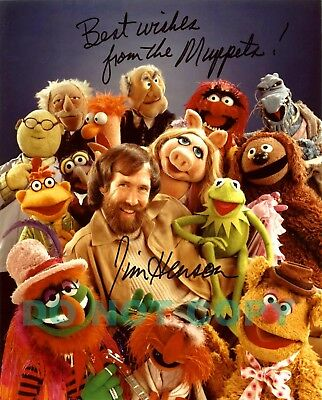 REPRINT RP 8x10 Signed Autographed Photo: Jim Henson -Muppets