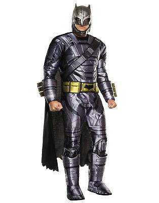 Adult Armored Deluxe Batman V Superman Dawn Of Justice Mens Halloween Costume