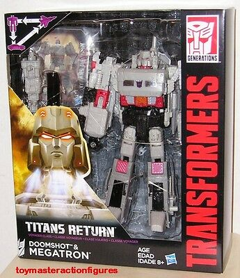 TRANSFORMERS GENERATIONS TITANS RETURN Wv3 G1 MEGATRON VOYAGER CLASS In Stock