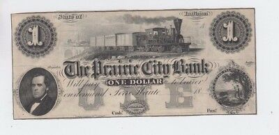 Obsolete Currency Indiana vf