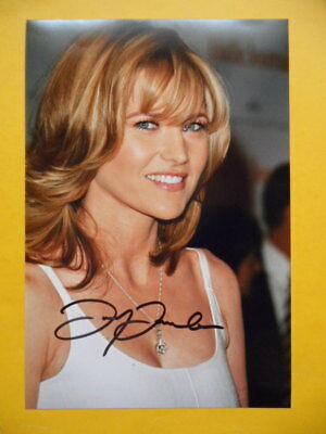 Autogramm, Lucy Lawless, Filmschauspielerin, Orginal, handsigniert!