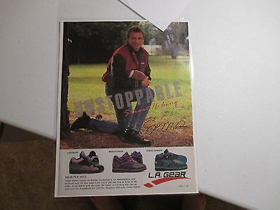 1990 La Gear Ad-Joe Montana!!!!!!!!!!!!!!!!!!!!!