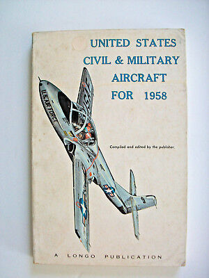 United States Civil & Military Aircraft For 1958-Many Airplane Pics