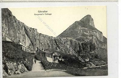 (Gb1137-477) Governors Cottage, Gibraltar c1920 EX