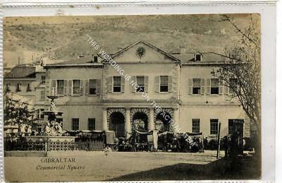 (Gb1176-477) Commercial Square, Gibraltar c1910 VG+