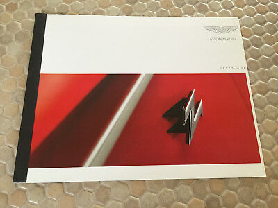 Aston Martin V12 Zagato Small Preview Sales Brochure 2011