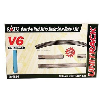 NEW Kato N Scale Set V6 Outside Loop Track 20-865-1