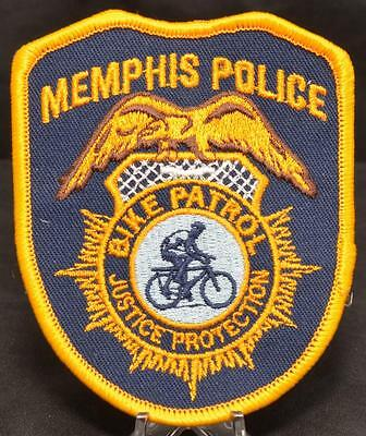 """Memphis Tennessee Police Department Bike Patrol LEO Officer 3.75"""" Patch"""
