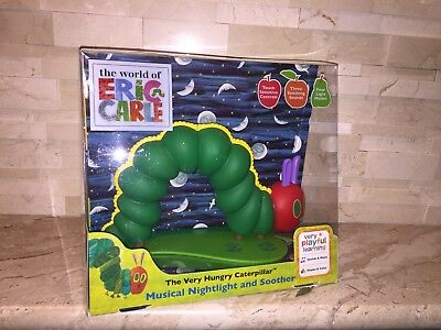 The Very Hungry Caterpillar Musical Nightlight And Soother