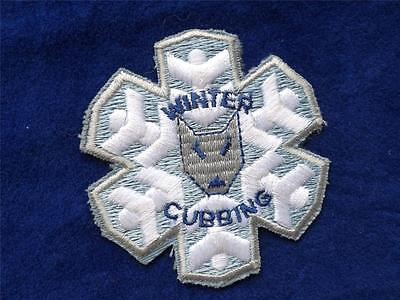 Boy Scouts Cubs Canada Vintage Badge Patch Winter Cubbing Wolf