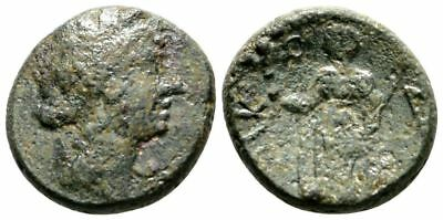 Ancient Greece after 212 BC SICILY SYRACUSE ROME PERSEPHONE DEMETER TORCH