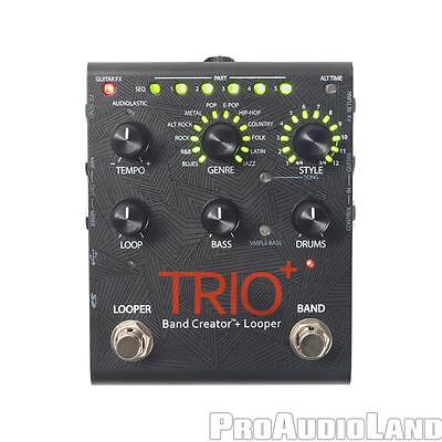 DigiTech Trio+ Plus Band Creator Looper Guitar Effects Pedal