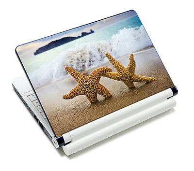"Starfish Laptop Sticker Skin Decal For 14"" 15"" 15.6"" HP Dell Acer Toshiba Lenovo"