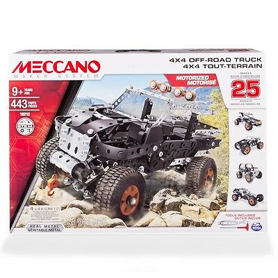 MECCANO 4 x 4 OFF ROAD TRUCK MAKES 25 MODELS BNIB