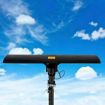 Leadzm Outdoor 150 Miles Amplified Antenna Digital HD TV 17-23dB UHF/VHF/FM 350°