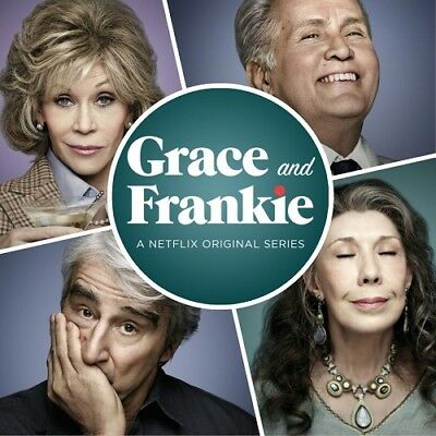Grace and Frankie Season 1 + 2 Series One & Two New DVD
