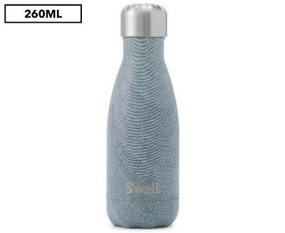 S'well Textile Collection 260mL Insulated Bottle - Blue Jean