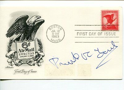 Preston Robert Tisch NY Giants Owner US Postmaster General Signed Autograph FDC