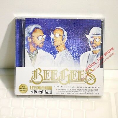 Bee Gees Timeless The All Time Greatest Hits Taiwan CD w/OBI 2017 Best NEW