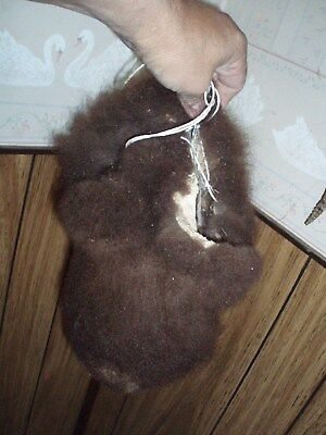 JUMBO bison scrotum real buffalo Ball bag oddity nutsack gag gift man bag A14