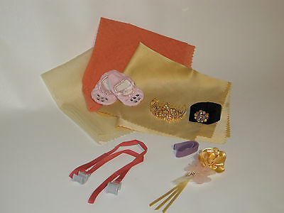 American Girl Doll New Isabelle 7 piece replacement lot NEW Tiara Retired