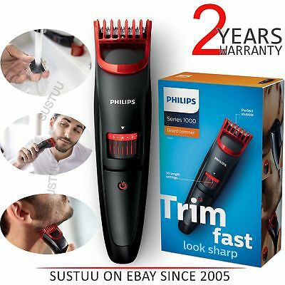 Philips Series 1000│Men's│Cordless Beard Trimmer Shaver Hair Removal│BT405/13