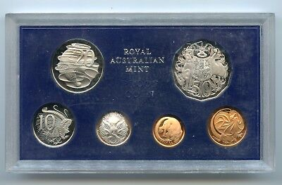 Australia ~ 1971 ~ Wildlife ~ 6 Coin ~ Proof Set
