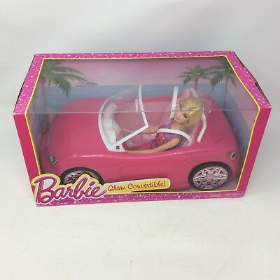 Mattel Barbie Glam Convertible Pink and Barbie Doll 2 Seat Multicolor Seats